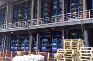 Logistics parts warehouse